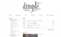 KIN・HAVER SACKなど通販【dimple(ディンプル)】